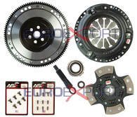 Honda D Series Competition Clutch Lightweight Steel Flywheel + Stage 5 Clutch Kit 1