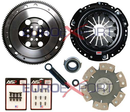 Competition Clutch Flywheel Kit Honda Prelude H22 H23 6 Puck Rigid Stage 4