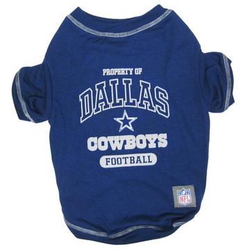 Dallas Cowboys NFL Football Pet T-Shirt