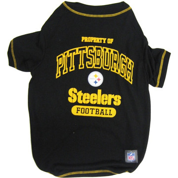 Pittsburgh Steelers NFL Football Pet T-Shirt