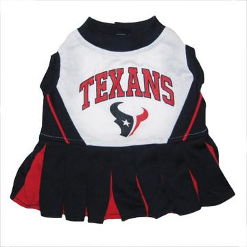 Houston Texans NFL Football Pet Cheerleader Outfit