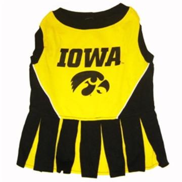 Iowa Football Pet Cheerleader Outfit