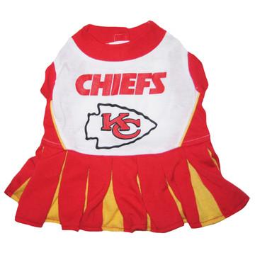 Kansas City Chiefs NFL Football Pet Cheerleader Outfit