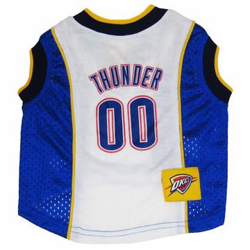 Oklahoma City Thunder Mesh Pet Jersey