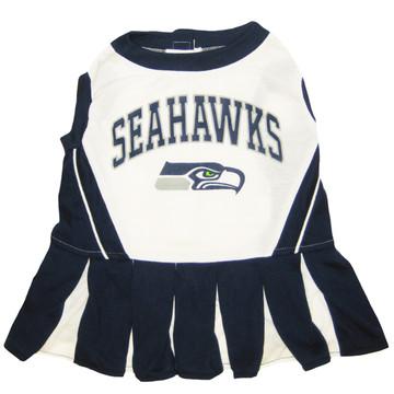 Seattle Seahawks NFL Football Pet Cheerleader Outfit