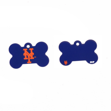 New York Mets Pet ID Tag - With Engraving