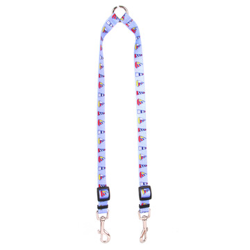 Sailboats and Lighthouses Coupler Dog Leash