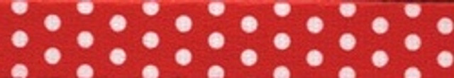 New Red Polka Dot Coupler Dog Leash