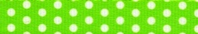 New Green Polka Dot Coupler Dog Leash