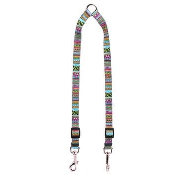 Festival Stripe Coupler Dog Leash