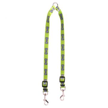 Bella Bone Green Coupler Dog Leash
