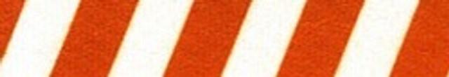 "Team Spirit Rust and White Roman Style ""H"" Dog Harness"