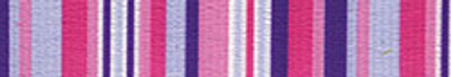 "Purple and Pink Stripes Roman Style ""H"" Dog Harness"
