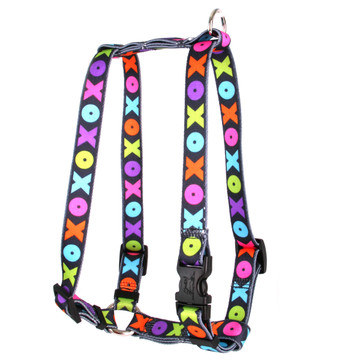 """Hugs and Kisses Roman Style """"H"""" Dog Harness"""