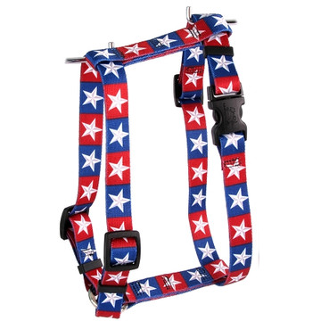 "Colonial Stars Roman Style ""H"" Dog Harness"