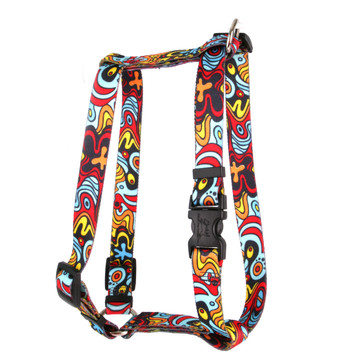 """Abstract Roman Style """"H"""" Dog Harness"""