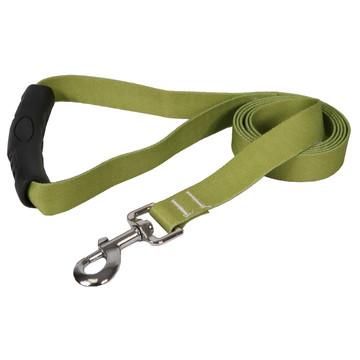Solid Olive EZ-Grip Dog Leash