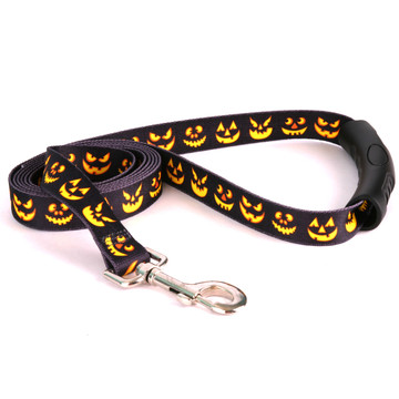 Jack O'Lantern EZ-Grip Dog Leash