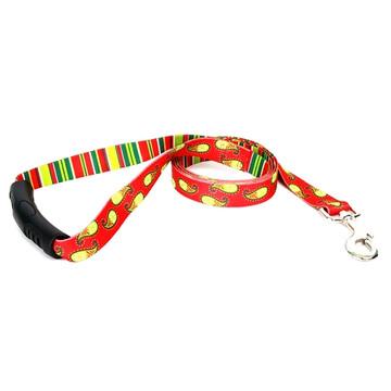 Holiday Paisley EZ-Grip Dog Leash