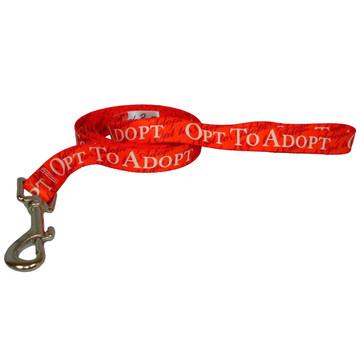 Opt to Adopt Dog Leash