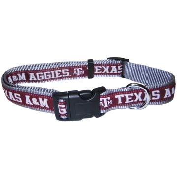Texas A&M Dog Collar