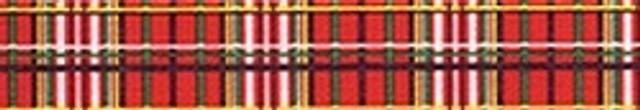 Tartan Red Waist Walker