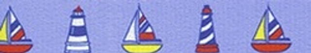 Sailboats and Lighthouses Waist Walker