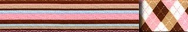 Pink and Brown Stripes Waist Walker