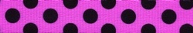 Pink and Black Polka Dot Waist Walker