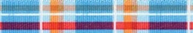Madras Blue Waist Walker