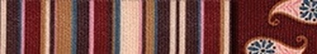 Burgundy Stripes Waist Walker