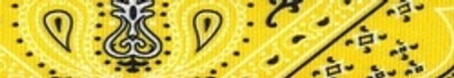 Bandana Yellow Waist Walker