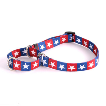 Colonial Stars Martingale Dog Collar