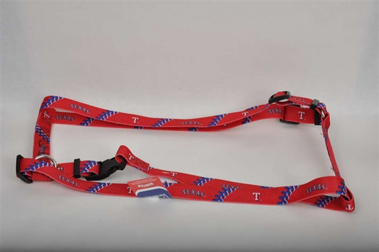Texas Rangers Dog Harness
