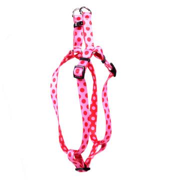 Valentine Polka Dot Step-In Dog Harness
