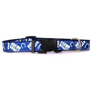 Indianapolis Colts Premium Grosgrain Collar