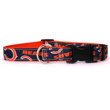 Chicago Bears Premium Grosgrain Collar