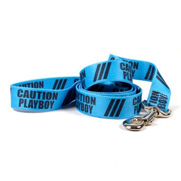 Caution Playboy Dog Leash