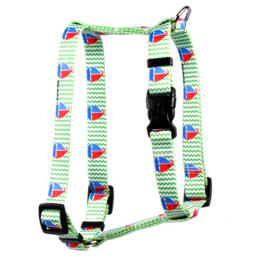 """Toy Boats Roman Style """"H"""" Dog Harness"""