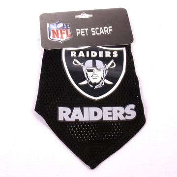 Oakland Raiders NFL Pet Bandana