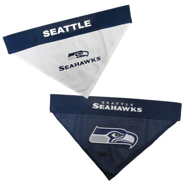 Reversible Seattle Seahawks NFL Pet Bandana