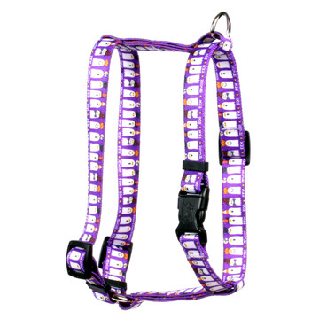 """Ghost Party Roman Style """"H"""" Dog Harness"""
