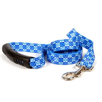 Hanukkah Stars EZ-Grip Dog Leash