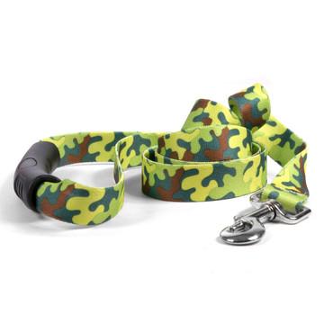 Neon Camo EZ-Grip Dog Leash