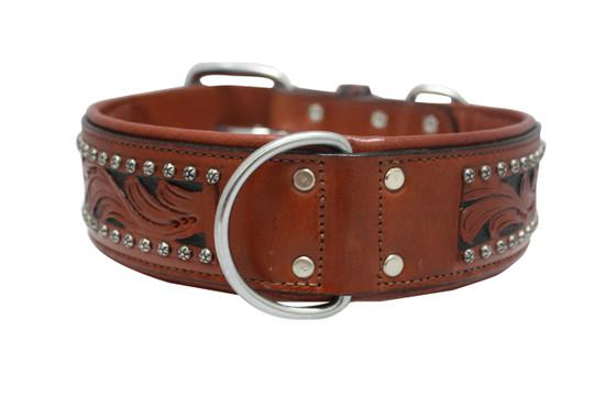 The Mesa - Luxury Leather Dog Collar