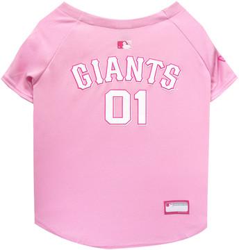 San Francisco Giants PINK MLB Pet Jersey