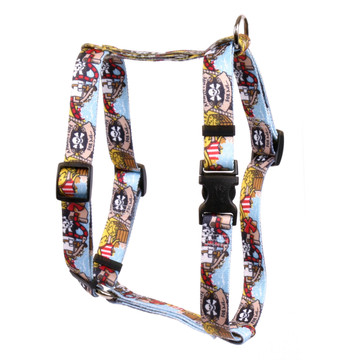 "Pirate Booty Roman Style ""H"" Dog Harness"