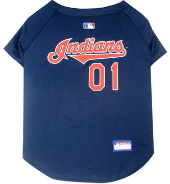 Cleveland Indians MLB Pet JERSEY