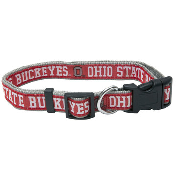 Ohio State Dog Collar