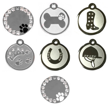Stainless Steel Pet ID Tags
